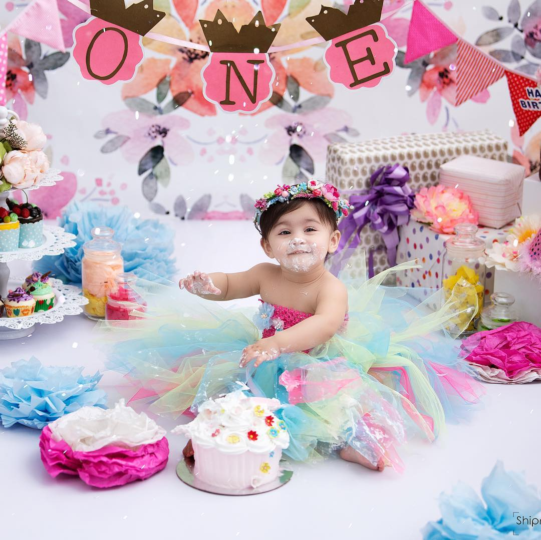 Birthday Girls Multicolored Tutu Dress Baby Girl Princess Dress Ideas for Memorable Photoshoot