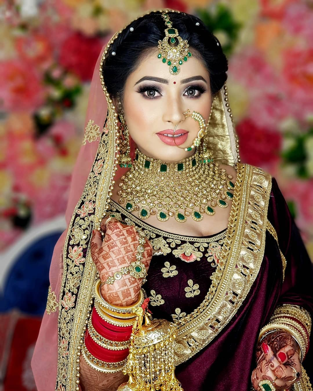 Gleam and shine: Indian Makeup and Jewelry Ideas Inspired from Real Brides