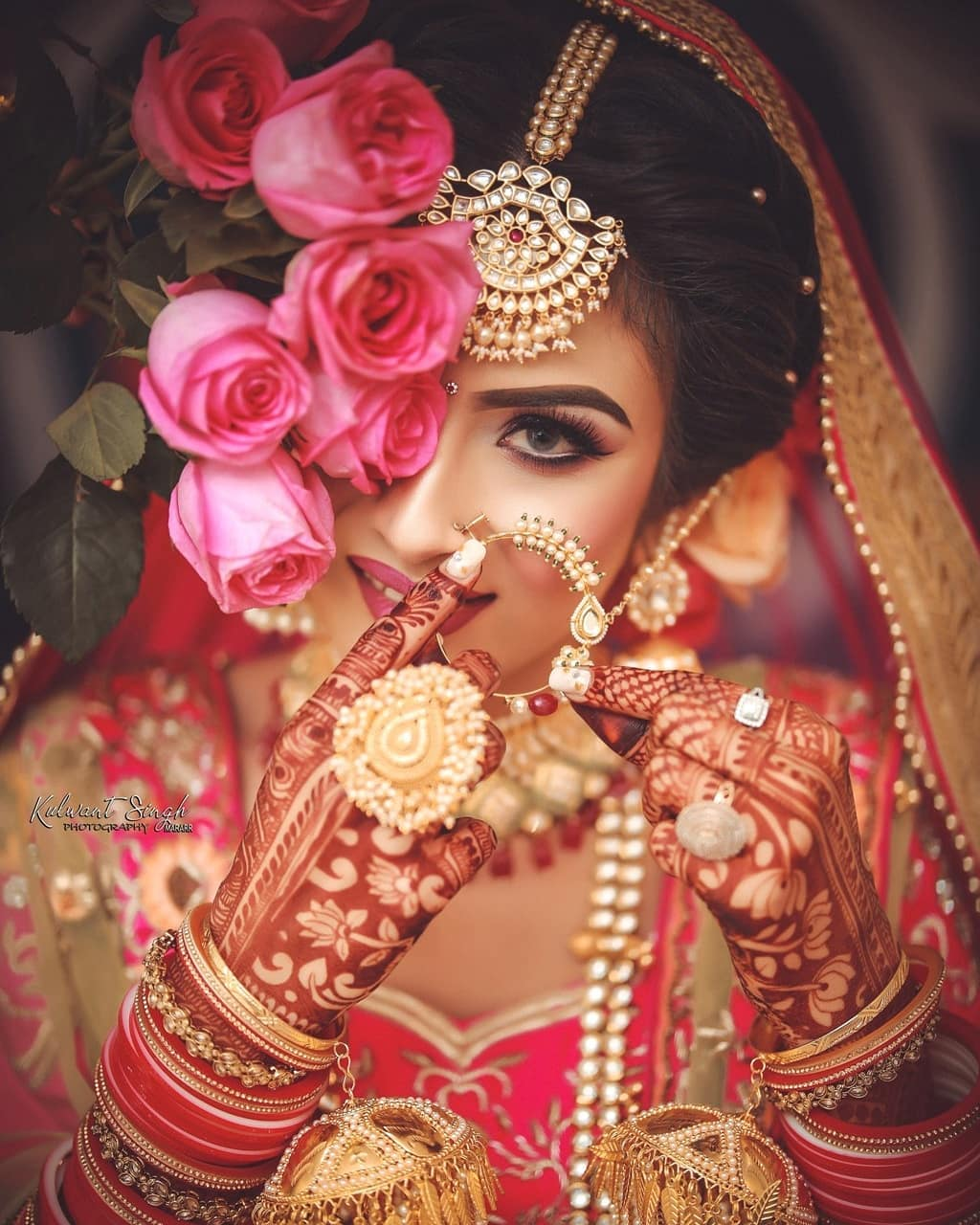 Polki bridal set: Indian Makeup and Jewelry Ideas Inspired from Real Brides