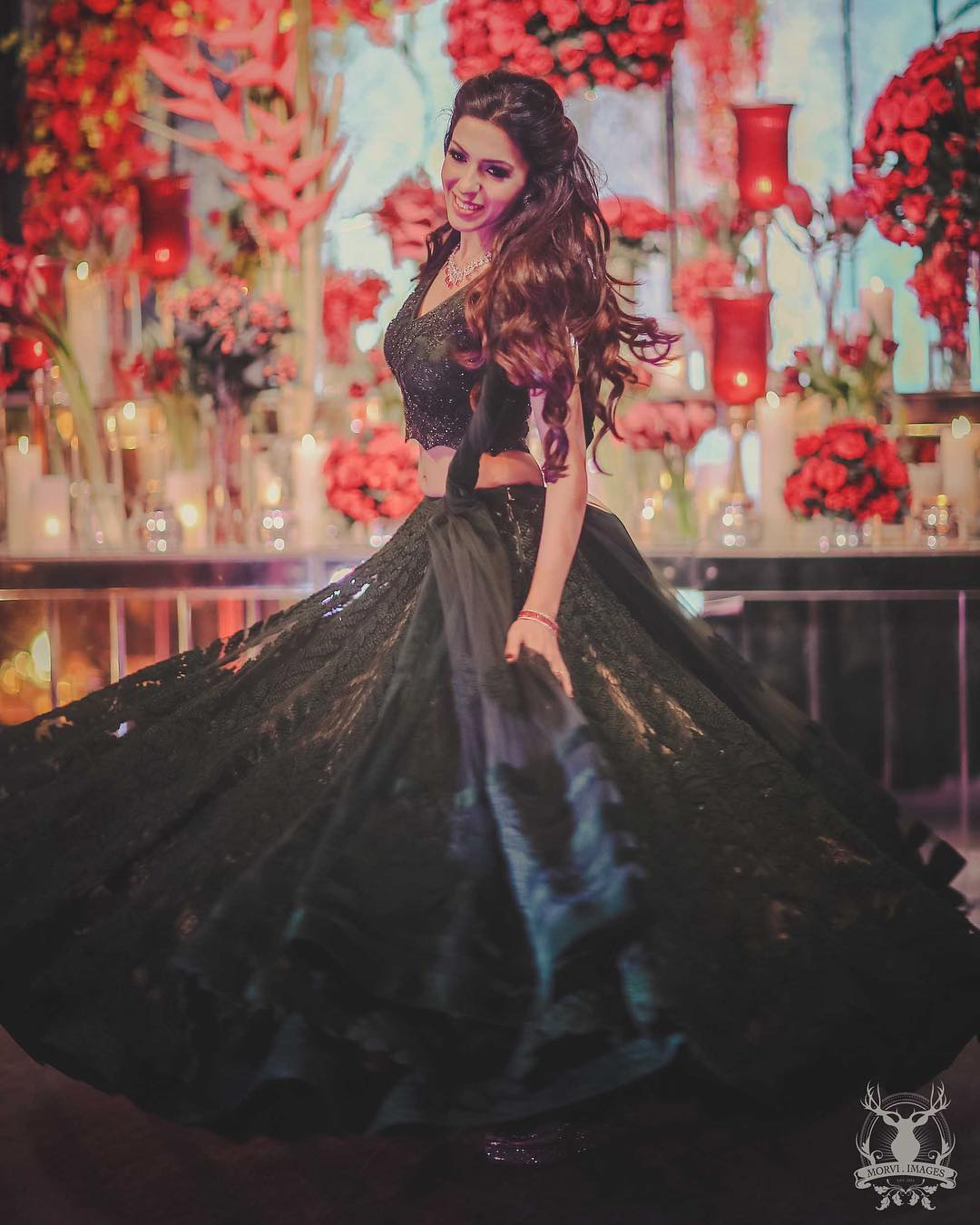 Pretty in black Special Bridal Designer Lehenga Collection for Wedding