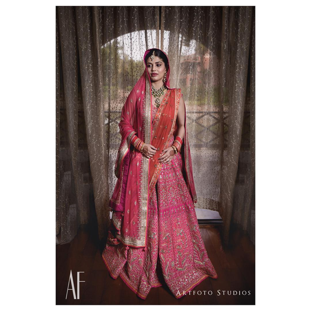 Pretty in pink: Designer Bridal Lehengas for Indian Wedding