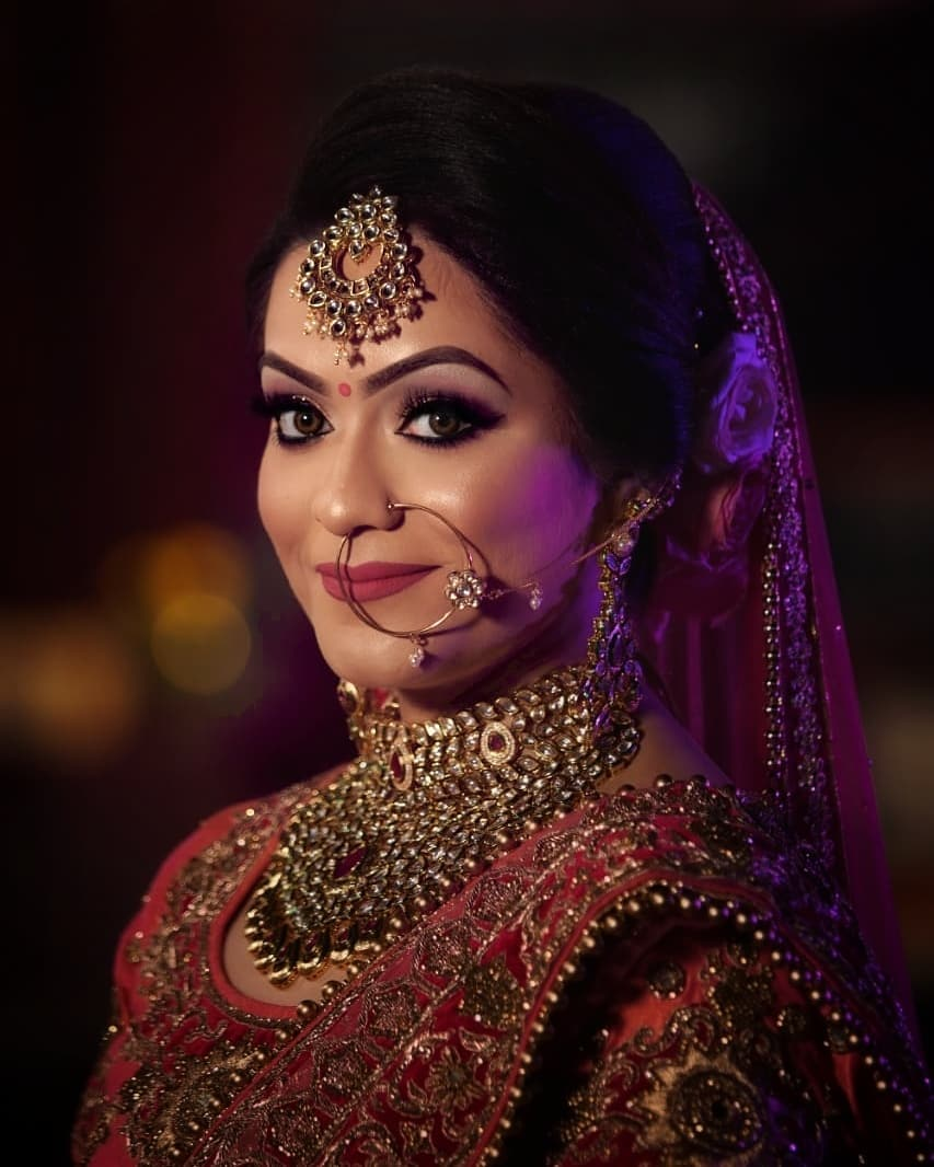 Indian Makeup and Jewelry Ideas Inspired from Real Brides