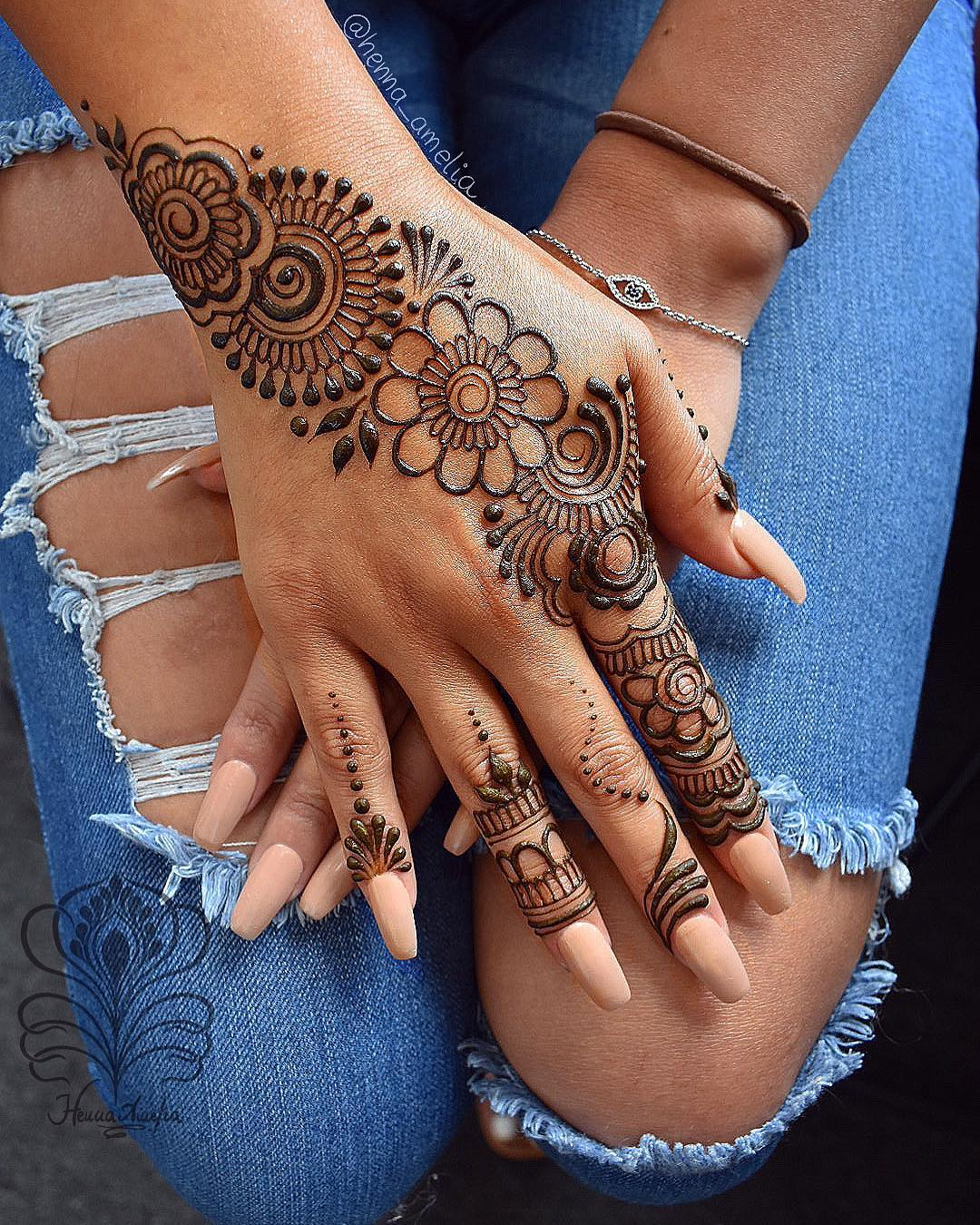 Arabic Mehndi Design Hand Easy Mehndi Designs Collection for Hand 2020