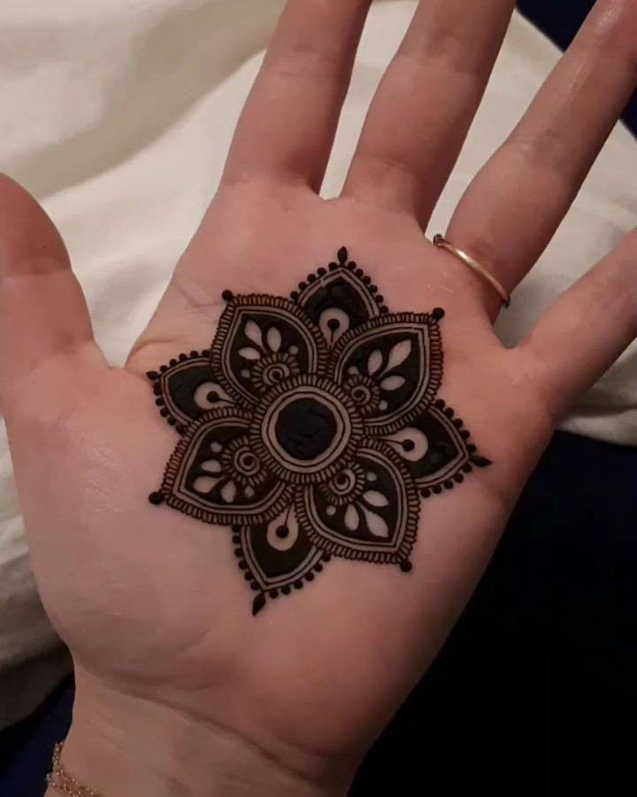 Beautiful mandala: Modern Mehndi Designs for Hands By Henna CKG