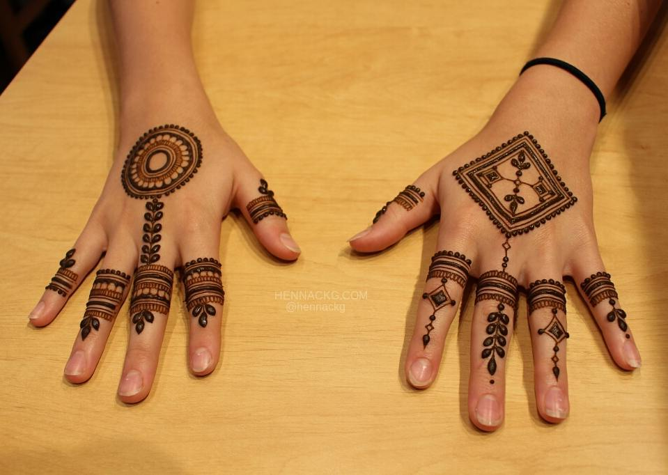 multi pattern with mandala design arabic new simple mehndi designs for hands