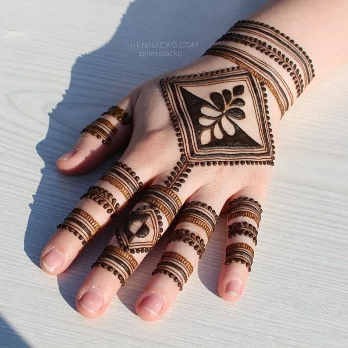 minimalist arabic new simple mehndi designs for hands
