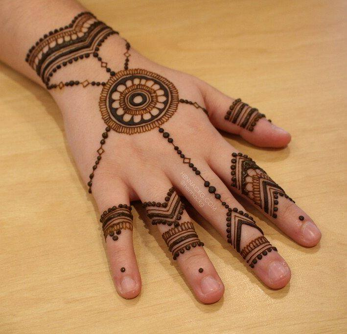 arabic new simple mehndi designs for hands