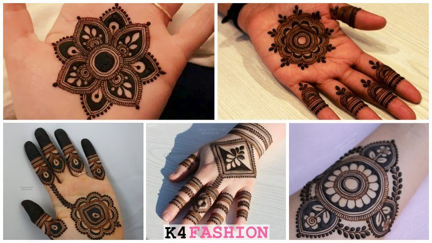 Modern Mehndi Designs for Hands By Henna CKG