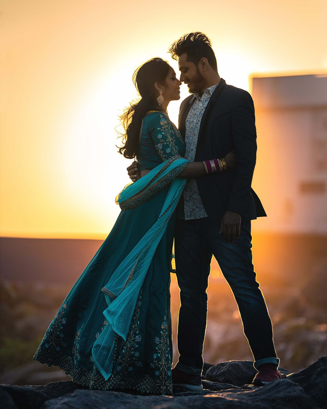 Stay golden: Pre-wedding Photoshoot for Indian Couples
