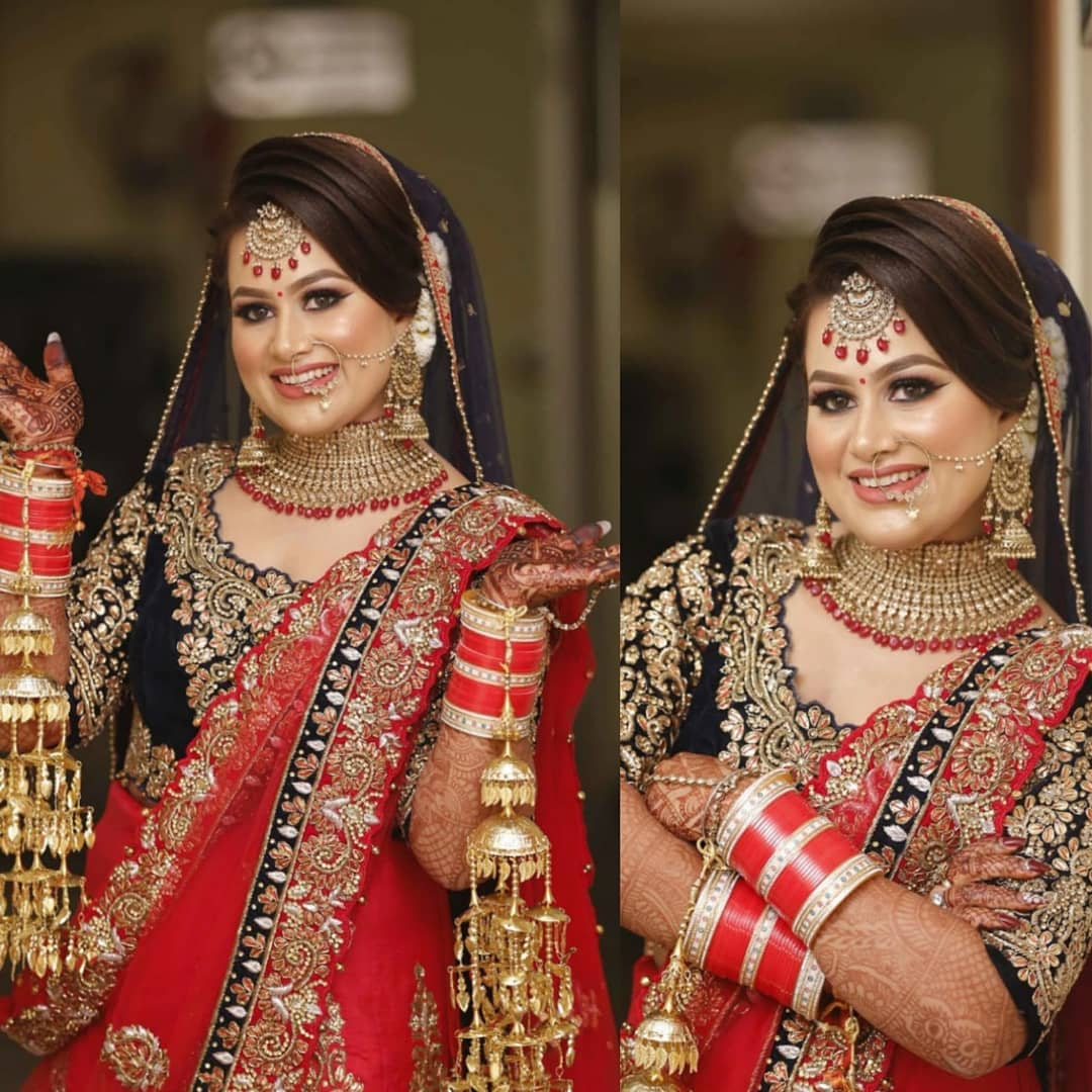 Reflecting radiance: Indian Makeup and Jewelry Ideas Inspired from Real Brides