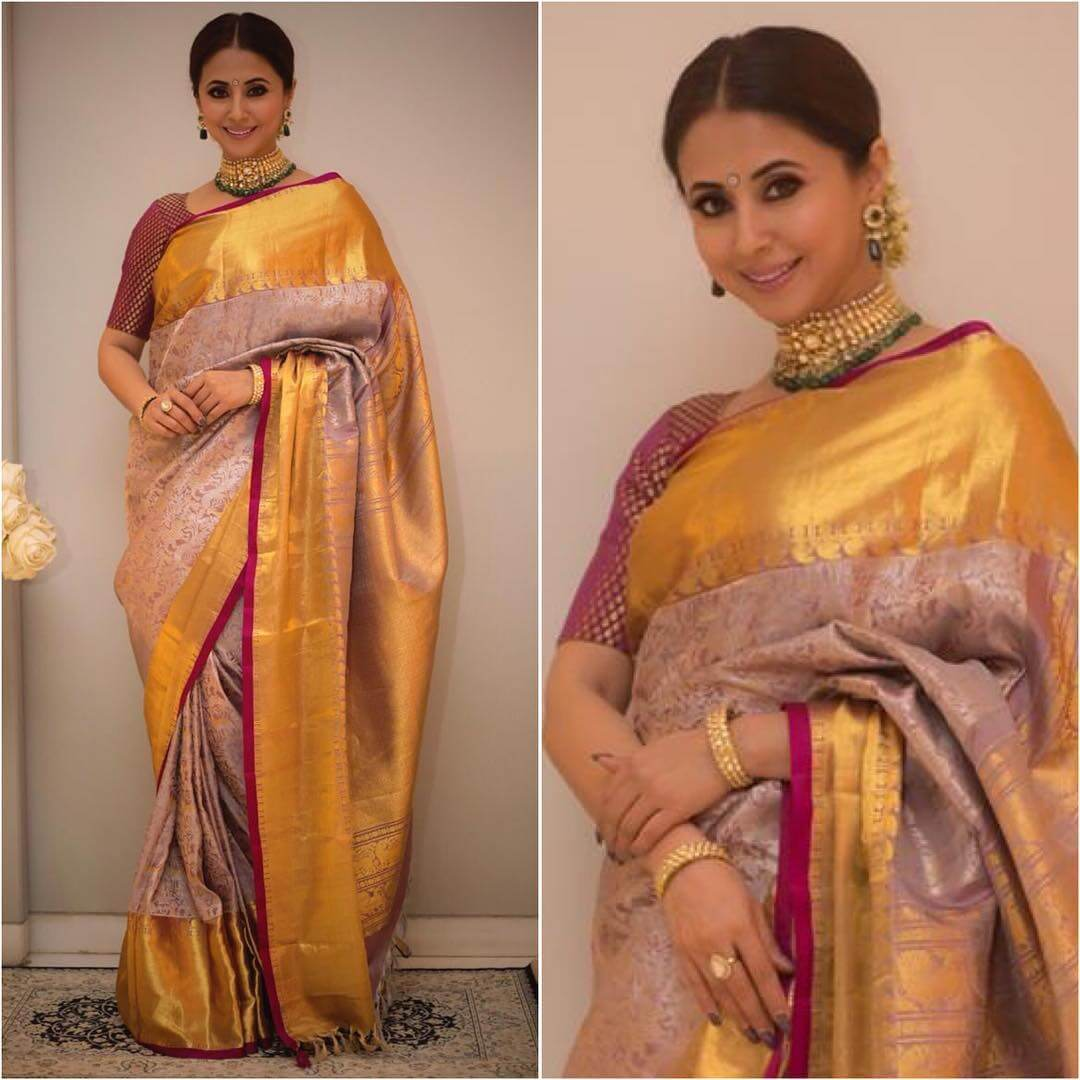 Silk Saree Designs Inspired from Bollywood Divas Silk Saree Designs Inspired from Bollywood Divas