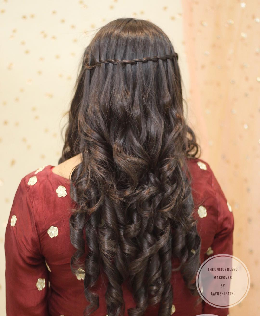 Waterfall braid: Floral hairstyles for Haldi and Mehendi Ceremonies!a