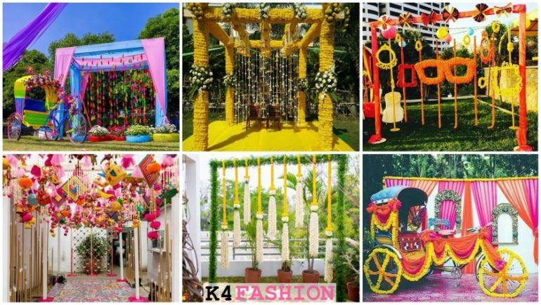 Simple & Stylish Decoration Ideas for Haldi Function