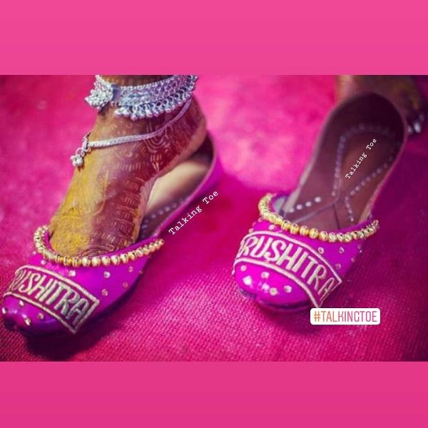 Embellished juttis Trendy Bridal Jutti Designs with Personalised Touch