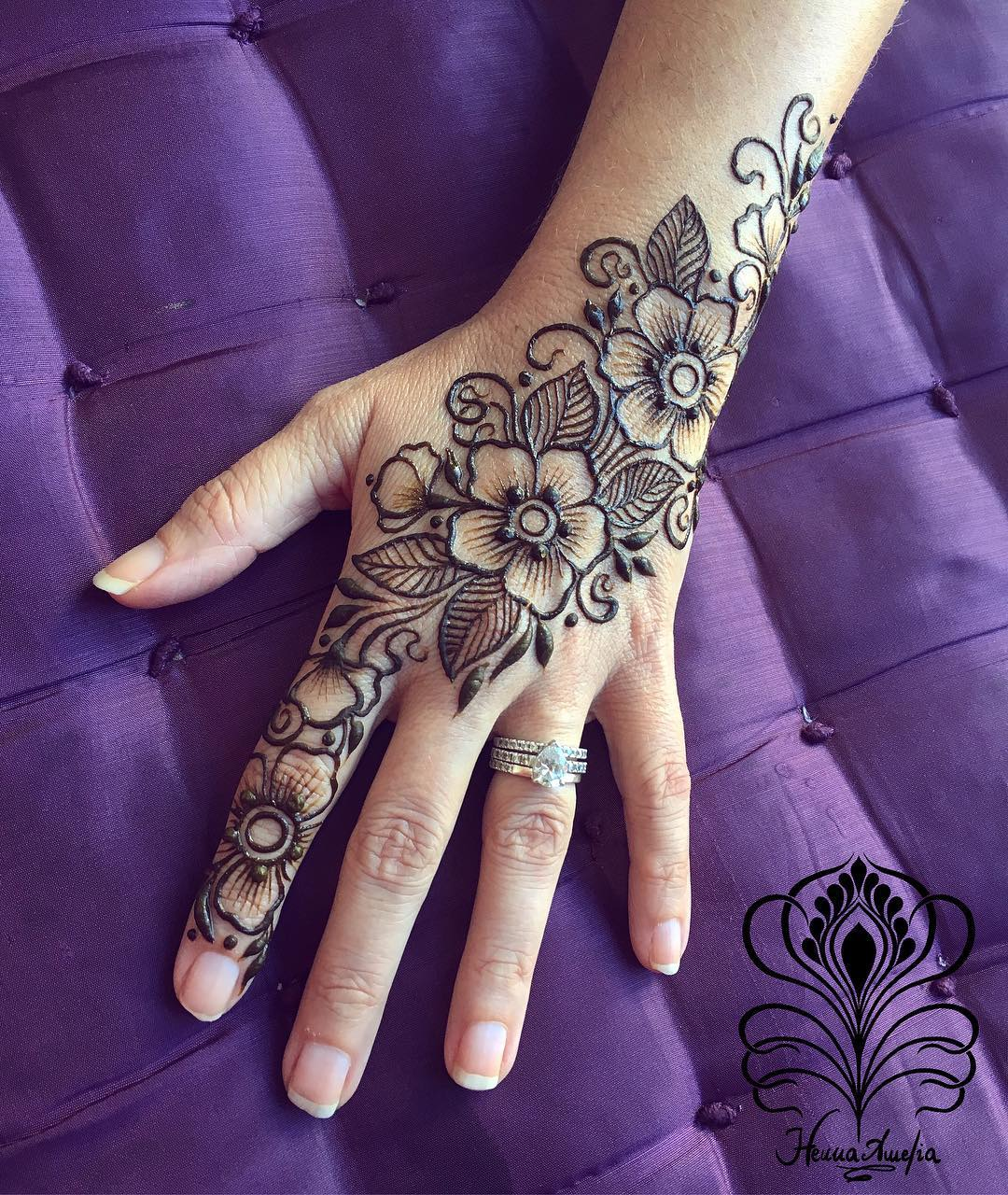 Floral henna Art Easy Mehndi Designs Collection for Hand 2020