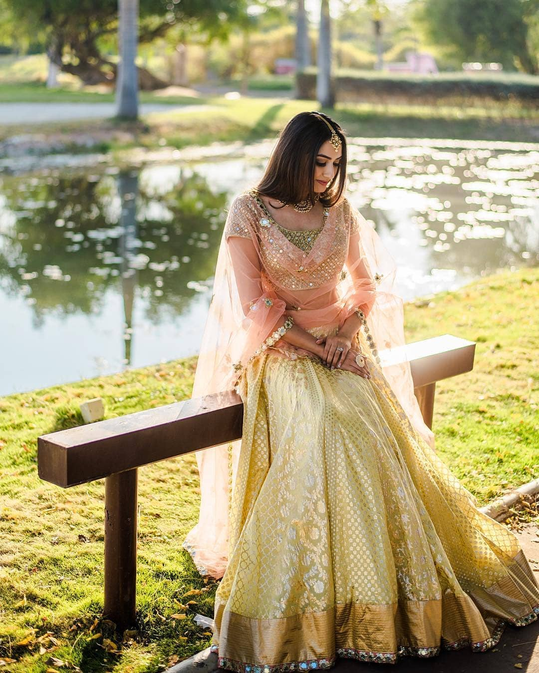 Pastel magic: Light Lehenga Designs for Bride & Bridesmaid