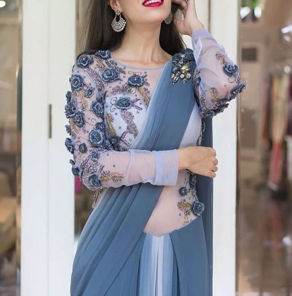 Bodysuit blouse design: Modern Blouse Designs for Your Gorgeous Look
