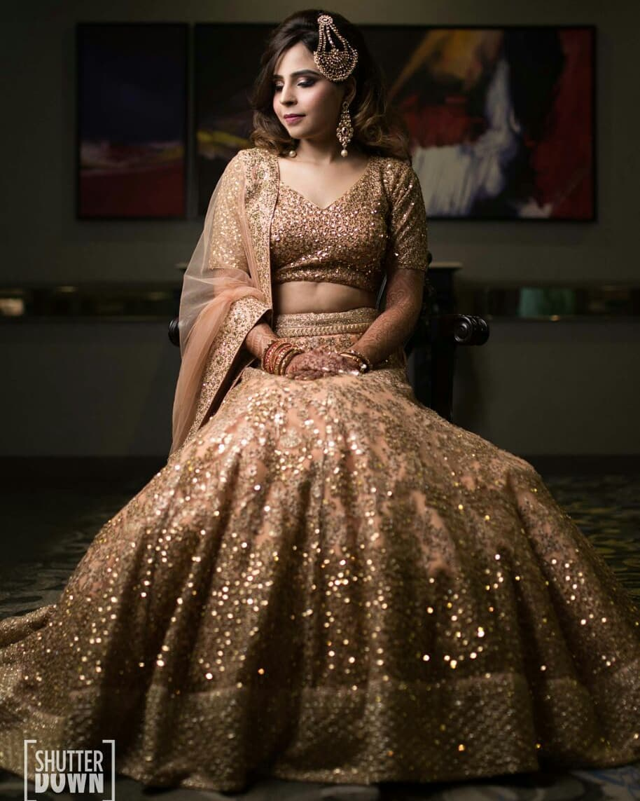 It's all about the bling Special Bridal Designer Lehenga Collection for Wedding