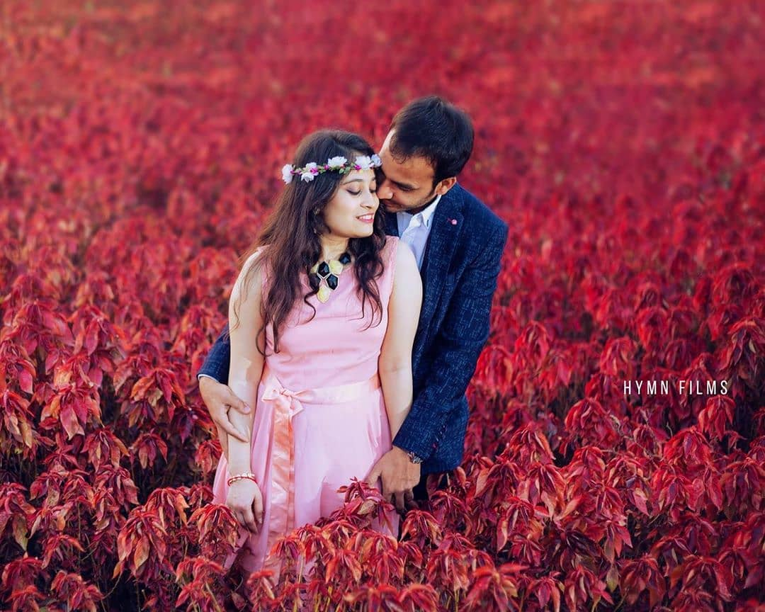 Amidst the wilderness: Pre-wedding Photoshoot for Indian Couples
