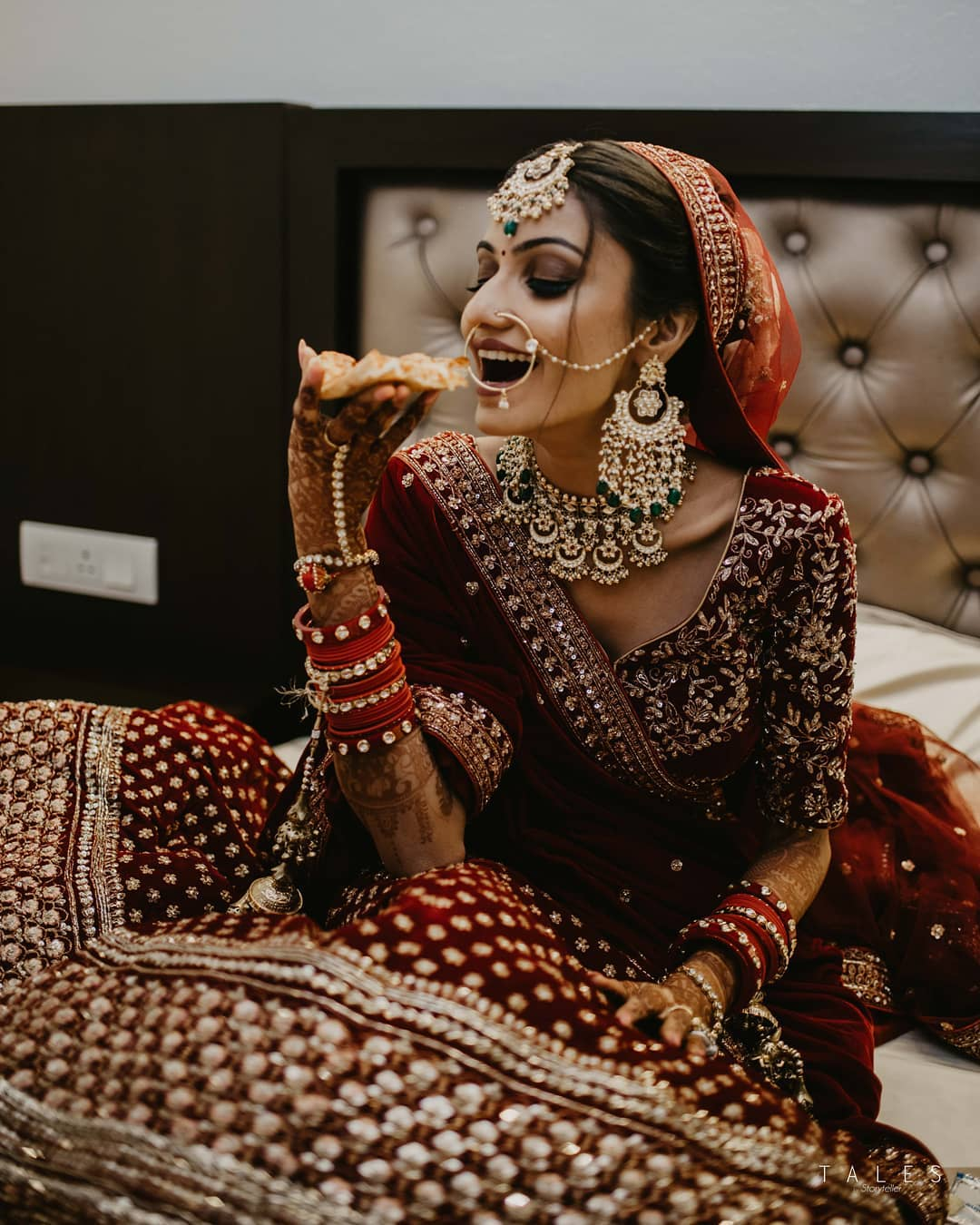 The food junkie: Real Bridal Looks, Styles & Dresses Inspirations