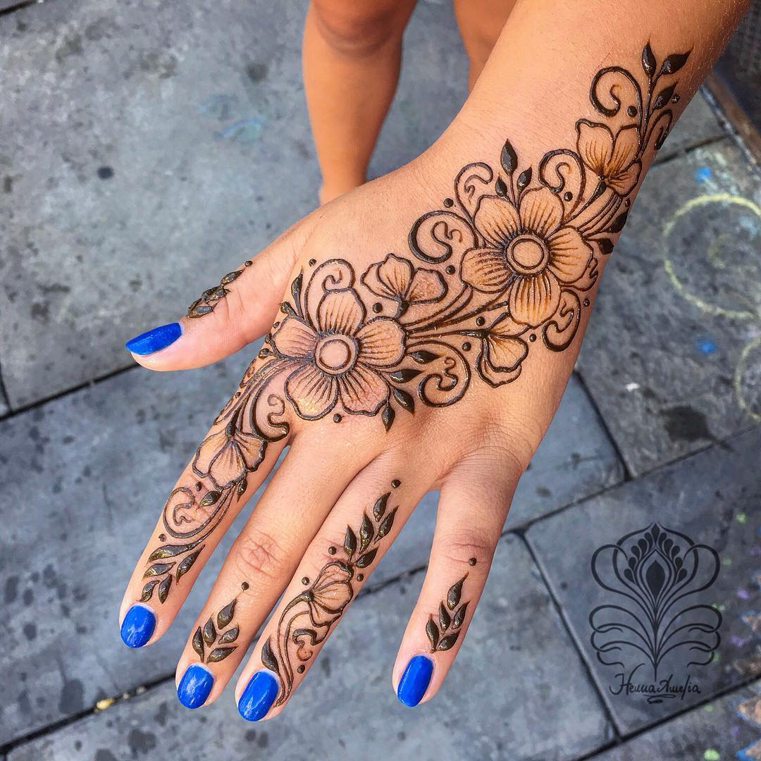 Arabic Mehndi Design for hand Easy Mehndi Designs Collection for Hand 2020