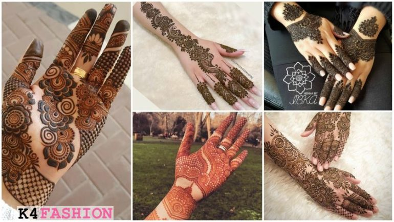 Beautiful \u0026 Simple Mehndi Designs for Hand , K4 Fashion