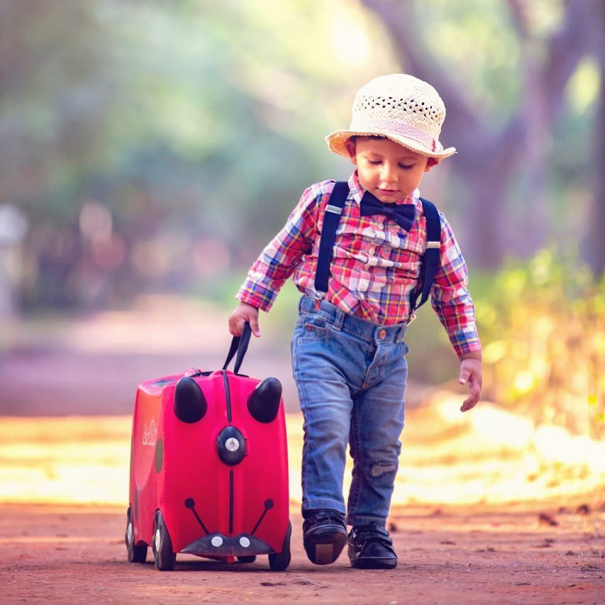 Traveller baby: Child photography poses ideas for memorable photoshoot