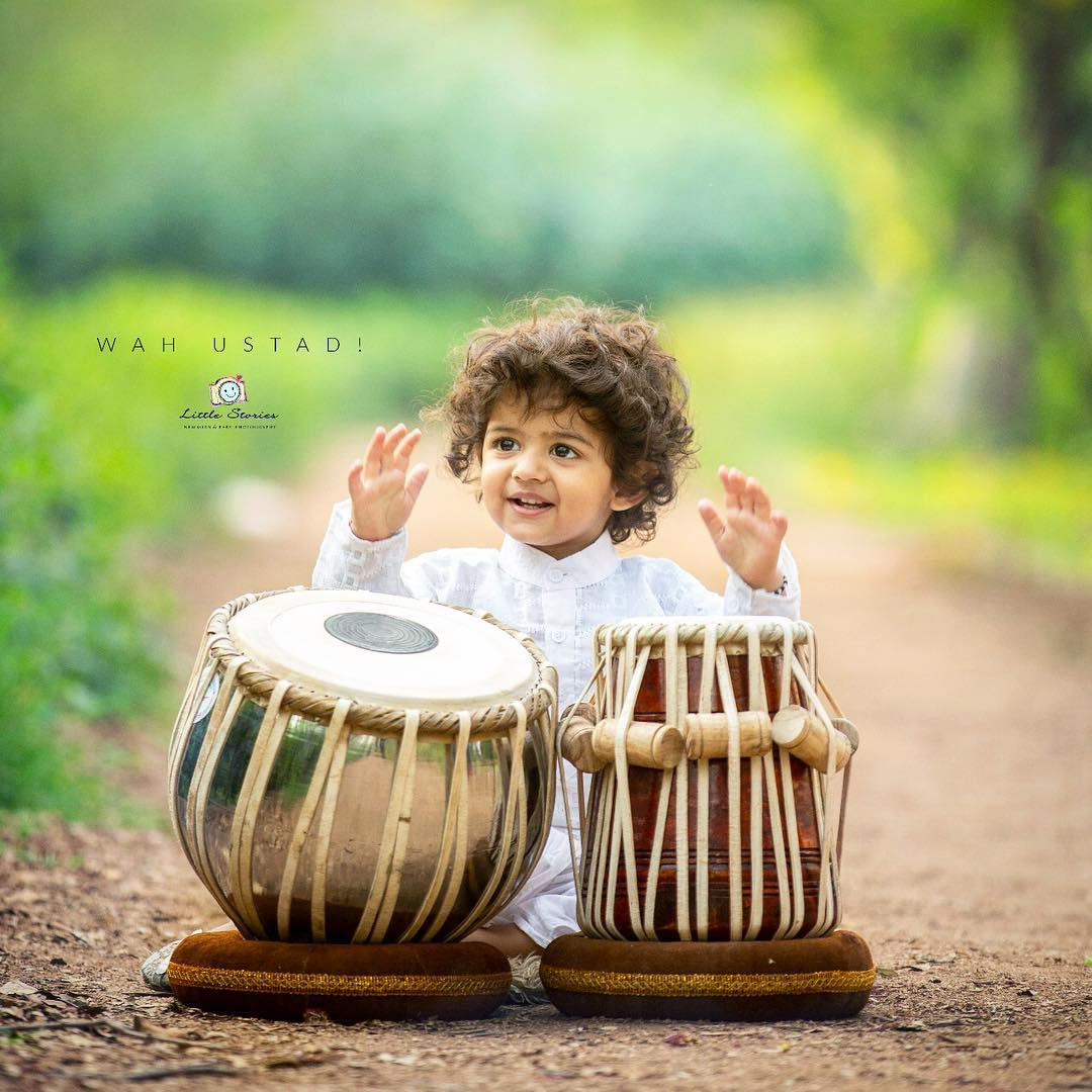 On a musical journey: Child photography poses ideas for memorable photoshoot