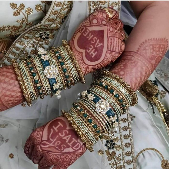 Beautiful Bangles For bride on wedding day Wedding Accessories for Indian Bride to Make your D-day Special