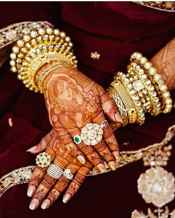 Beautiful rings for Indian bride  Wedding Accessories for Indian Bride to Make your D-day Special