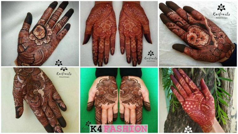 Bridal Mehndi Designs for Front Hand