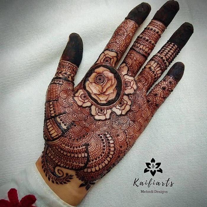 fullerMehndi design Bridal Mehndi Designs for Front Hand