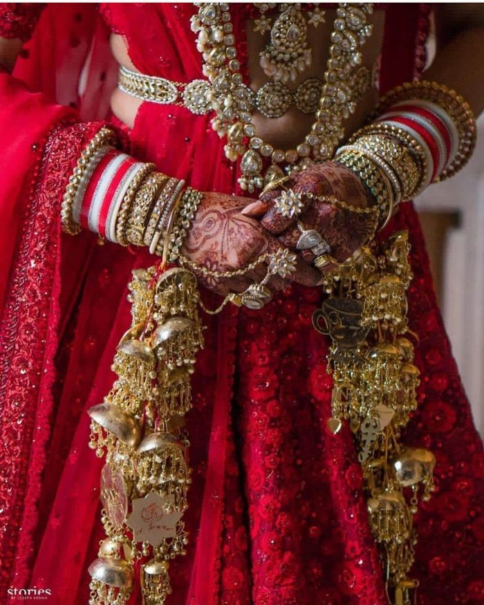 Beautiful Kaleere wedding accessories for Indian bride  Wedding Accessories for Indian Bride to Make your D-day Special
