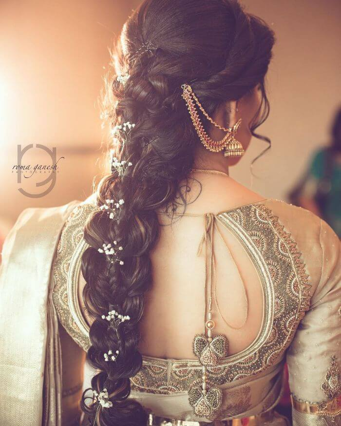 Beautiful knotted hairstyles for Long Hair Trendy Hairstyles for Long Hair | Wedding Special