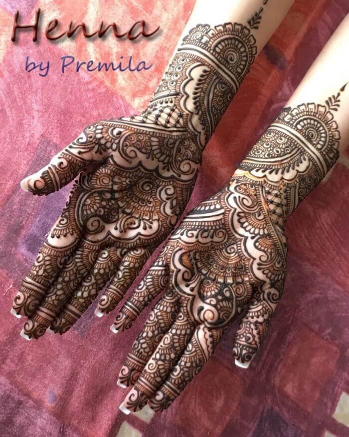 Beautiful full hand mehndi design for wedding Bridal Full Hand Mehndi Designs for Wedding Day