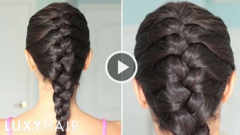 How To French Braid Hair Video Tutorial