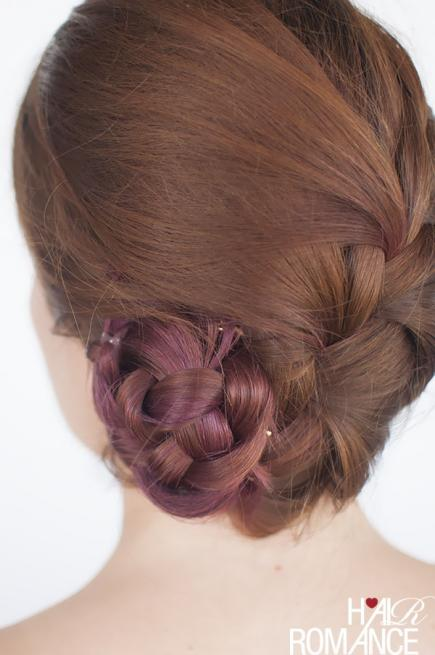 FRENCH BRAID BUN Stylish French Braid Hairstyle Tutorials