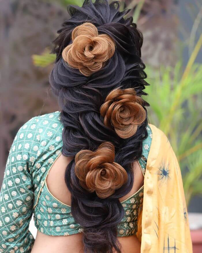 Indian Hairstyles For Long Hair: Indian Wedding Hairstyles For Long Hair