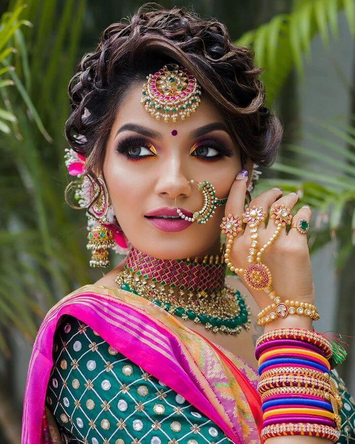 beautiful Indian wedding makeup look for bride's sisters and bhabhi Indian Wedding Makeup Looks for Bride's Sister