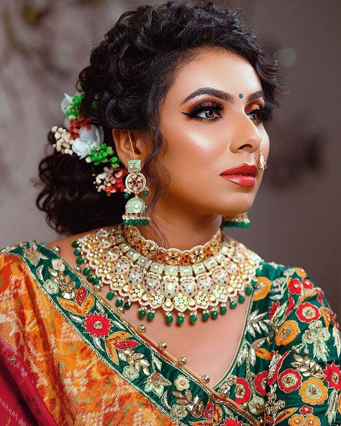 the enchanting makeup look for bride's sisters Indian Wedding Makeup Looks for Bride's Sister