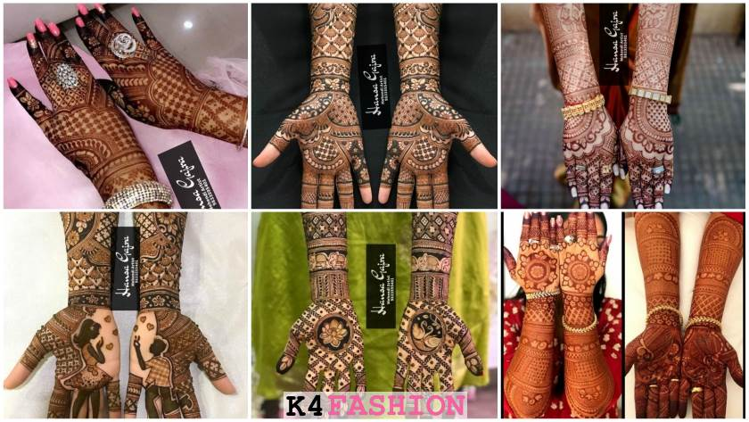 Bridal Mehndi Designs for Full Hands By Hansa Gajra