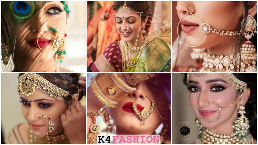 Wedding Nath Designs for Indian Brides