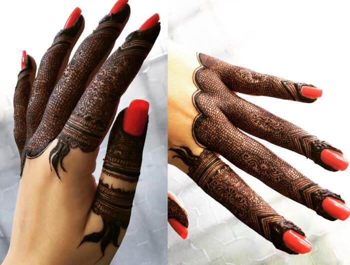 Really attractive mehndi design for hands Stylish Pakistani Mehndi Designs for Hands