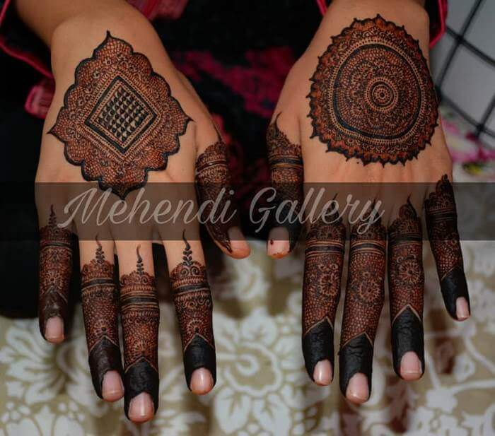 Beautiful back hand mehndi design for hands Stylish Pakistani Mehndi Designs for Hands