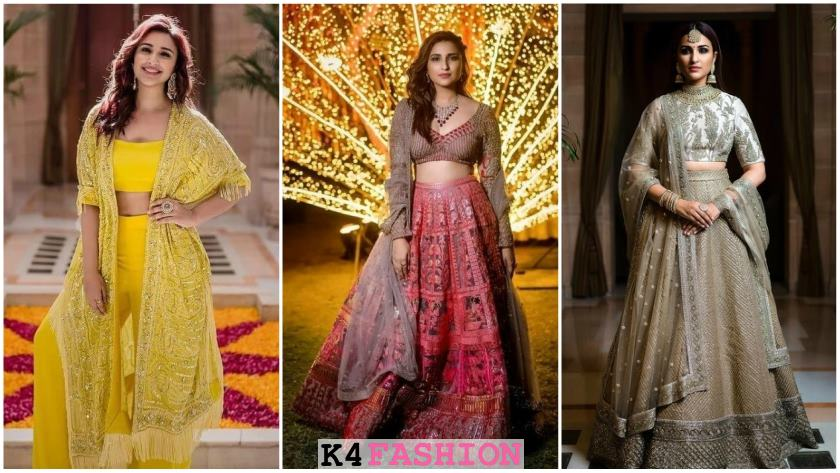 Parineeti Chopra's wedding dresses