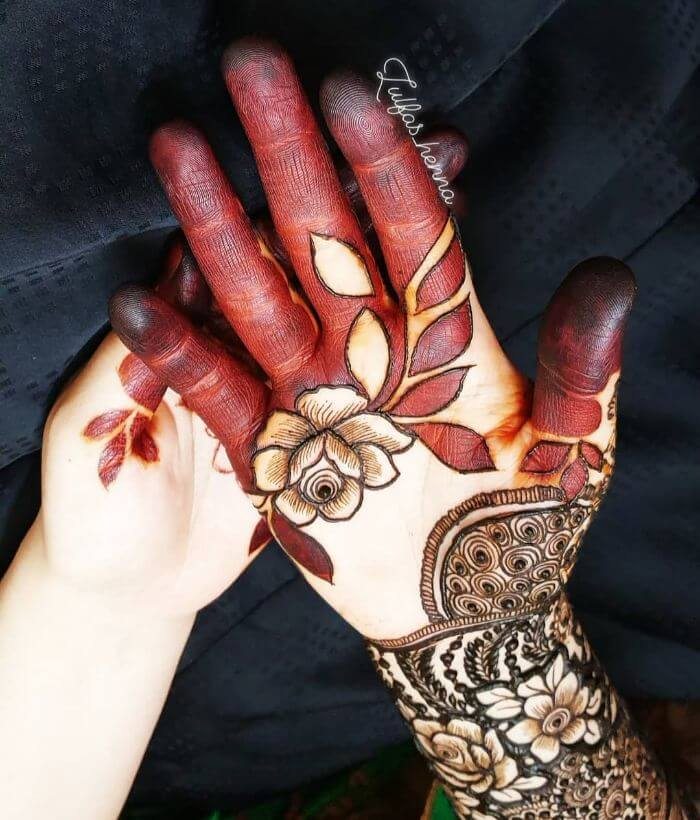 Floralstylish rose mehndi design Beautiful Floral Mehndi Designs for Hands