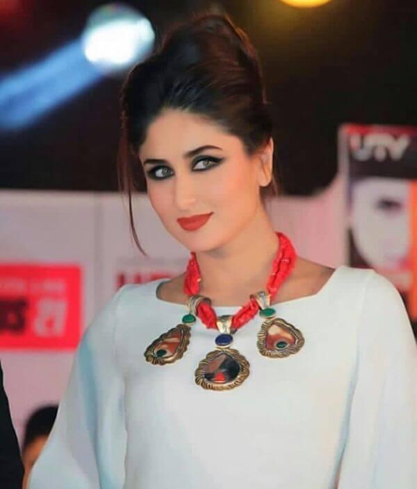 Bollywood actress kareena kapoor glamorous look