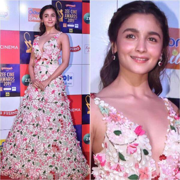 Alia Bhatt in floral gown