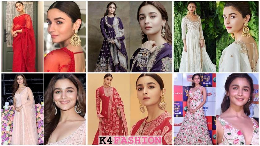 Bride and Bridesmaid Dresses Inspo from Alia Bhatt