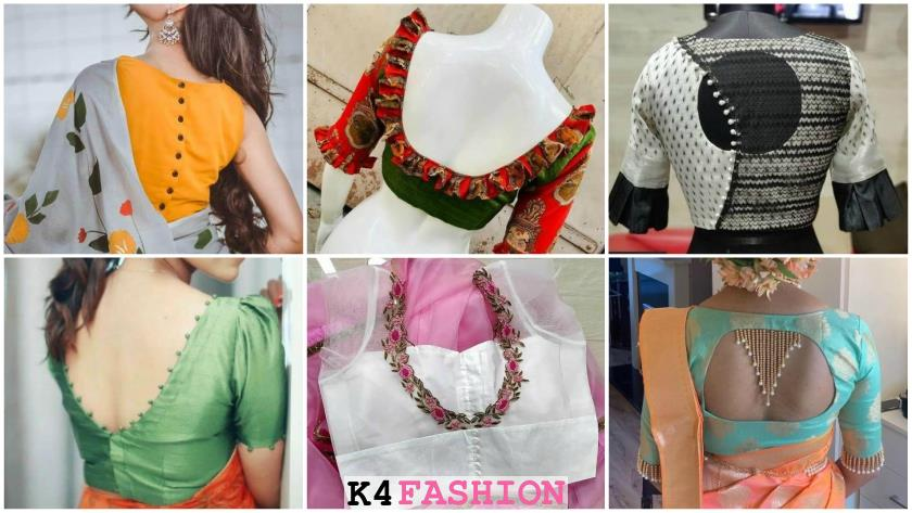 Stylish Blouse Back Neck Designs for Modern Look